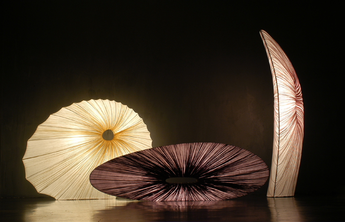 Sikus, Basso and Maestro Floor Lamps (from left to right)