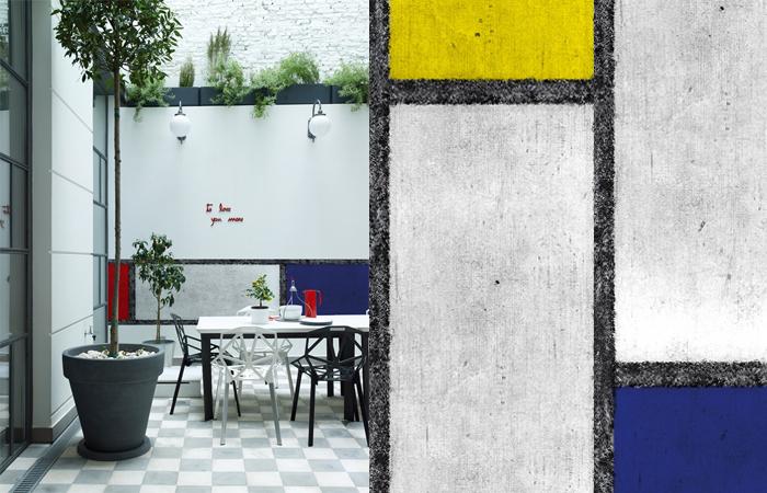 10surdix] | Papier peint extérieur Wall & Déco «OUT» – De Stijl ...