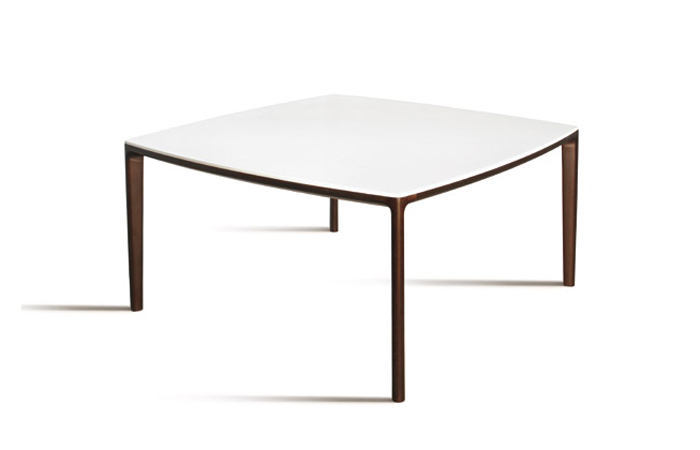 10surdix table carr e board 150 cm marbre blanc for Table carree 150 x 150