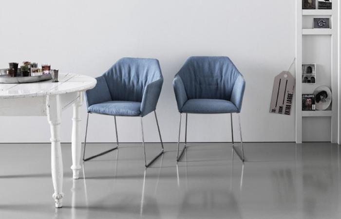 10surdix chaise new york avec accoudoirs tissu for Chaise york