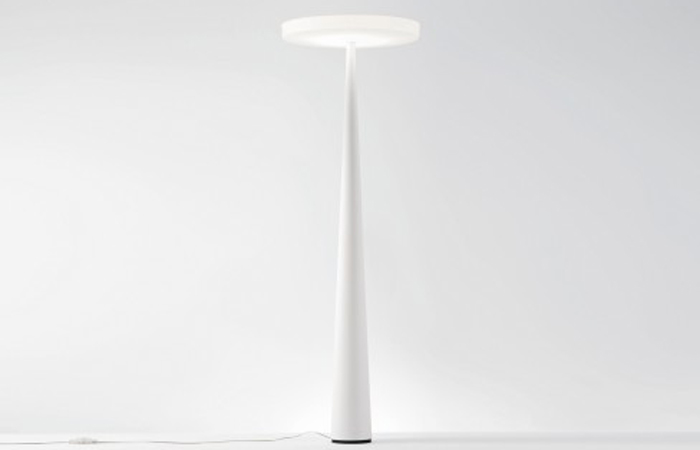 lampadaire halogene blanc