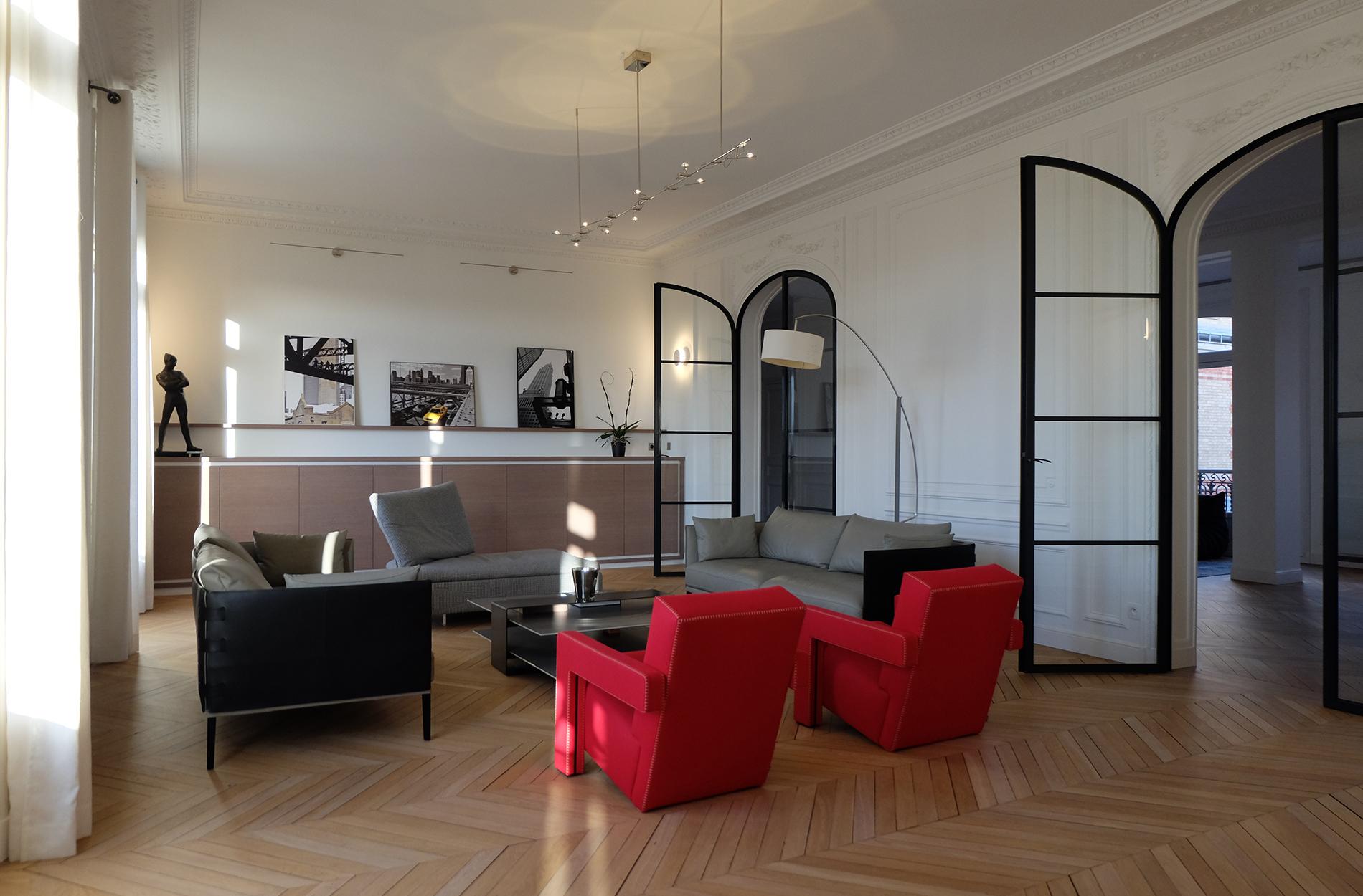 10surdix appartement paris 75016 10surdix. Black Bedroom Furniture Sets. Home Design Ideas