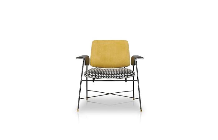 10surdix fauteuil bauhaus special edition 71 cm l saffron 10surdix. Black Bedroom Furniture Sets. Home Design Ideas
