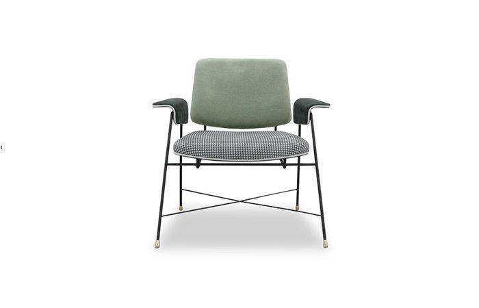 fauteuil bauhaus special edition 71 cm l saffron 10surdix. Black Bedroom Furniture Sets. Home Design Ideas