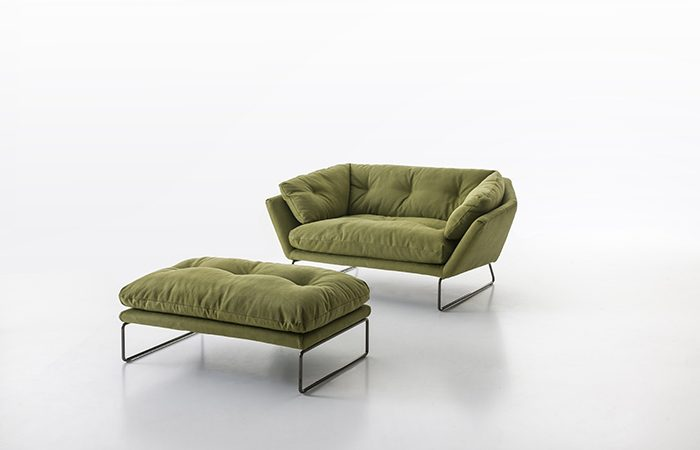 Canap new york suite 155 cm l tissu vert 10surdix - Suite cm ...