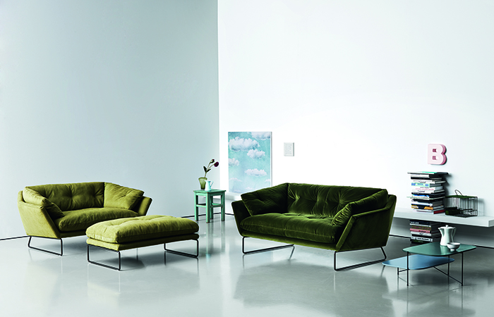 10surdix canap new york suite 190 cm l velour vert 10surdix - Suite cm ...