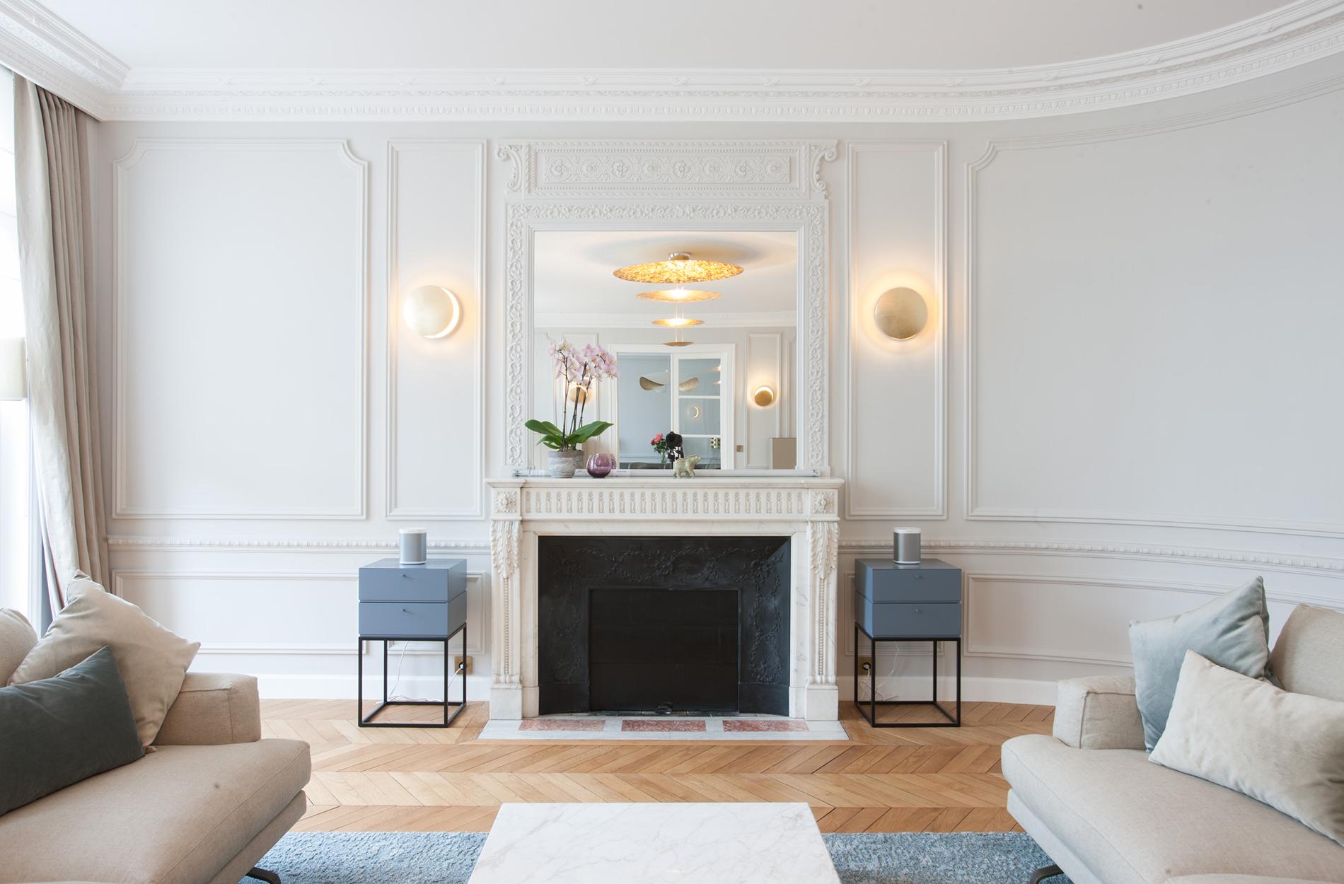 10surdix appartement paris 75008 10surdix for Interieur appartement parisien