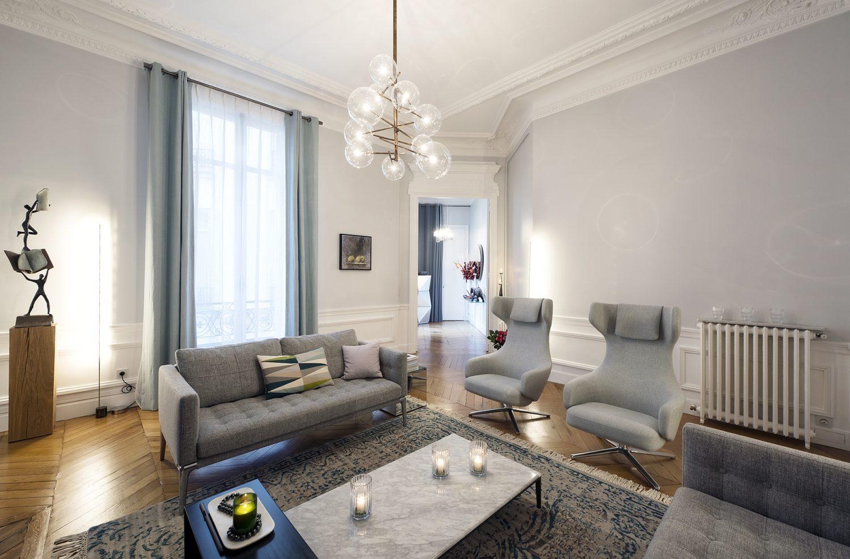 10surdix appartement paris meissonnier 10surdix. Black Bedroom Furniture Sets. Home Design Ideas