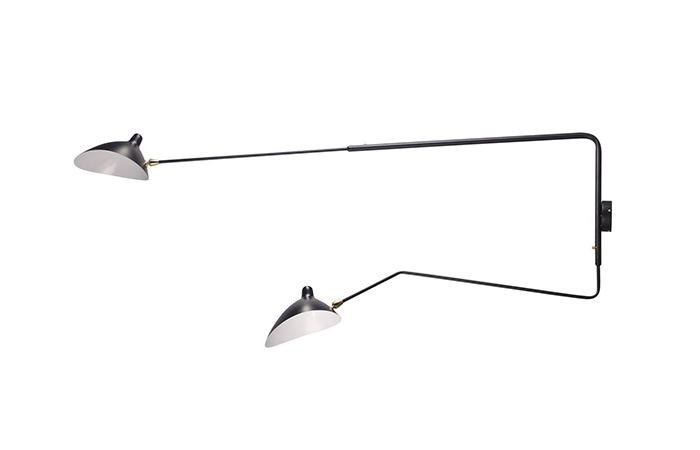 10surdix applique serge mouille 2 bras droits. Black Bedroom Furniture Sets. Home Design Ideas