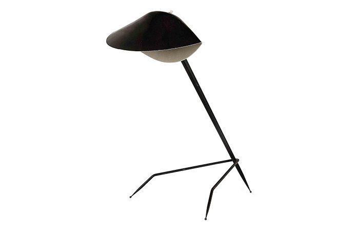 lampe tripode serge mouille 10surdix. Black Bedroom Furniture Sets. Home Design Ideas
