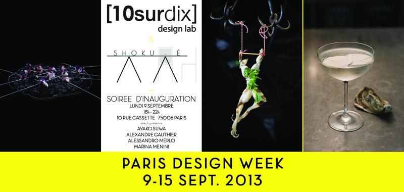 10surdix 10surdix participe la paris design week 10surdix. Black Bedroom Furniture Sets. Home Design Ideas