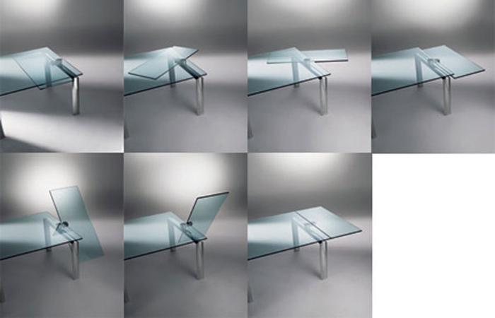 Mecanisme Table Extensible table extensible policleto q – 140 / 140 cm   [10surdix]