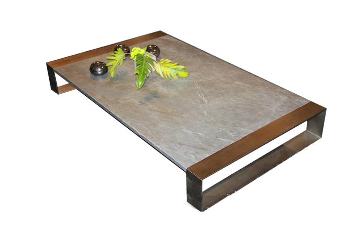 10surdix] | Table basse Ring – 150/90/35 cm – Ardoise | [10surdix]
