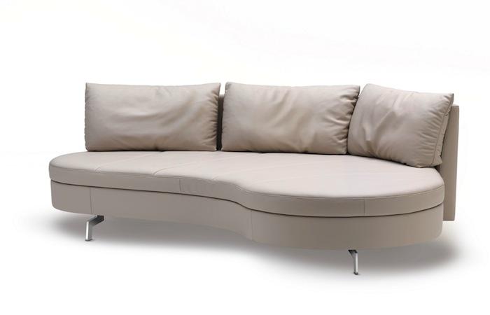 10surdix canap convertible benny 203 cm tissu. Black Bedroom Furniture Sets. Home Design Ideas