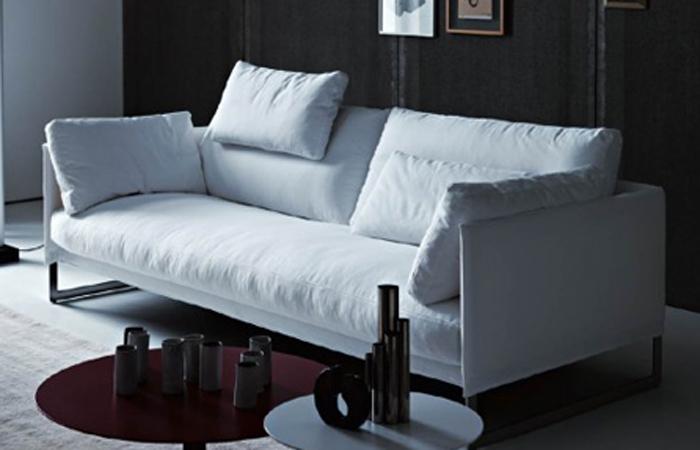 10surdix canap livingston 200 cm tissu 10surdix. Black Bedroom Furniture Sets. Home Design Ideas