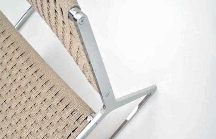 chaise wing corde natt e couleur naturelle 10surdix. Black Bedroom Furniture Sets. Home Design Ideas