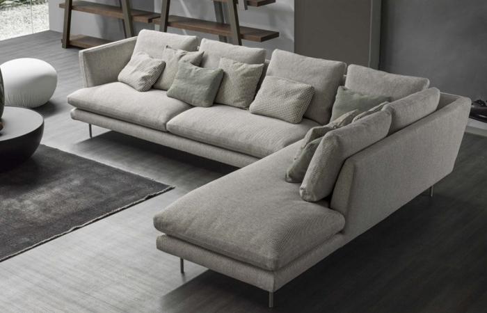 10surdix canap lars angle 325 160 cm tissu cat. Black Bedroom Furniture Sets. Home Design Ideas
