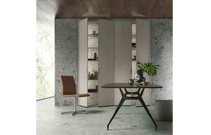10surdix table de repas manta 220 103 cm noyer 10surdix. Black Bedroom Furniture Sets. Home Design Ideas