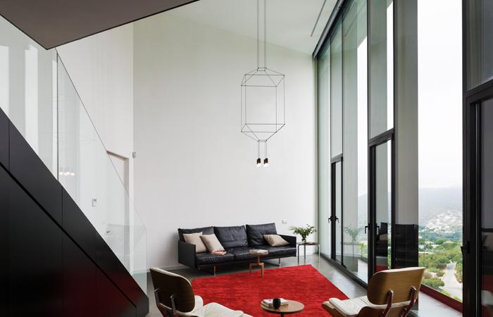 suspension wireflow 3d 30 cm quadrilat re 10surdix. Black Bedroom Furniture Sets. Home Design Ideas