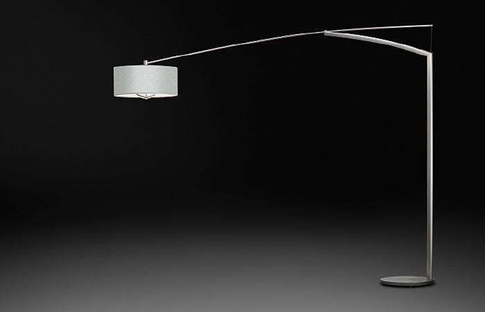 lampadaire balance 260 cm l nickel mate 10surdix. Black Bedroom Furniture Sets. Home Design Ideas