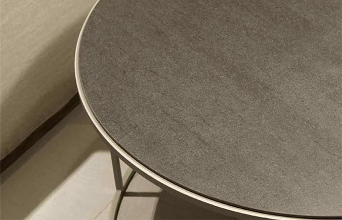 Table Ronde Cm Céramique10surdix – Vital Diam70 Basse TlF13JucK