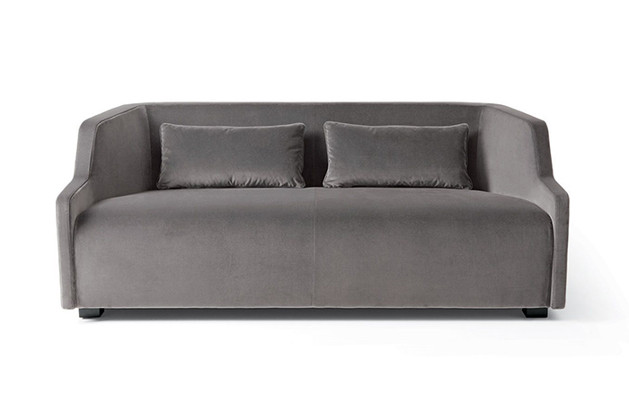 canap first 170 l cm velours 10surdix. Black Bedroom Furniture Sets. Home Design Ideas