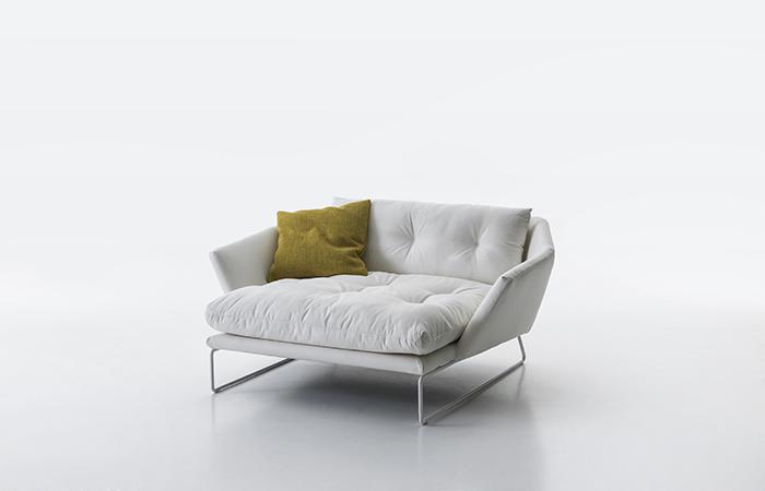 Canape New York Suite Lounge Tissu Blanc 10surdix