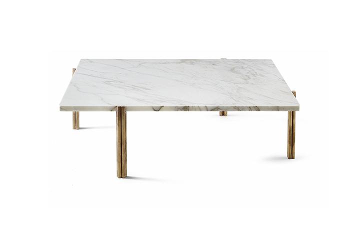 10surdix table basse twelve laiton marbre 10surdix. Black Bedroom Furniture Sets. Home Design Ideas
