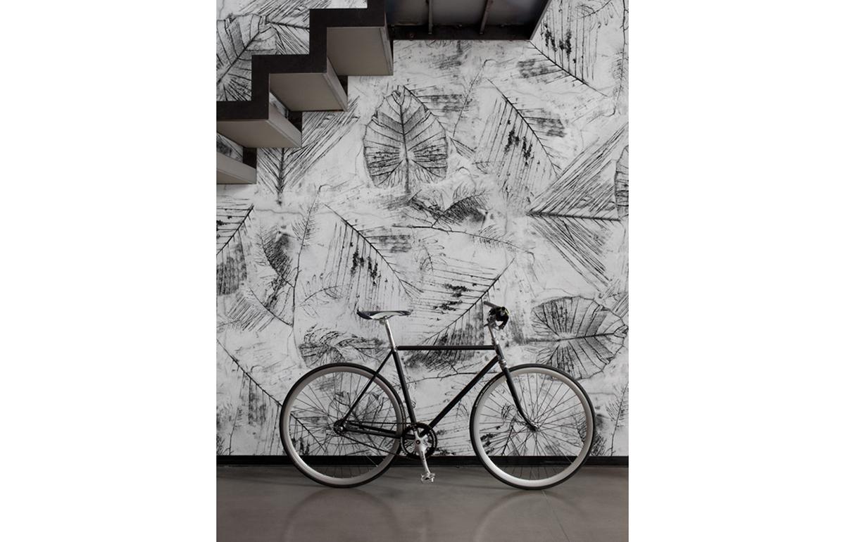10surdix papier peint wall d co traces 10surdix. Black Bedroom Furniture Sets. Home Design Ideas
