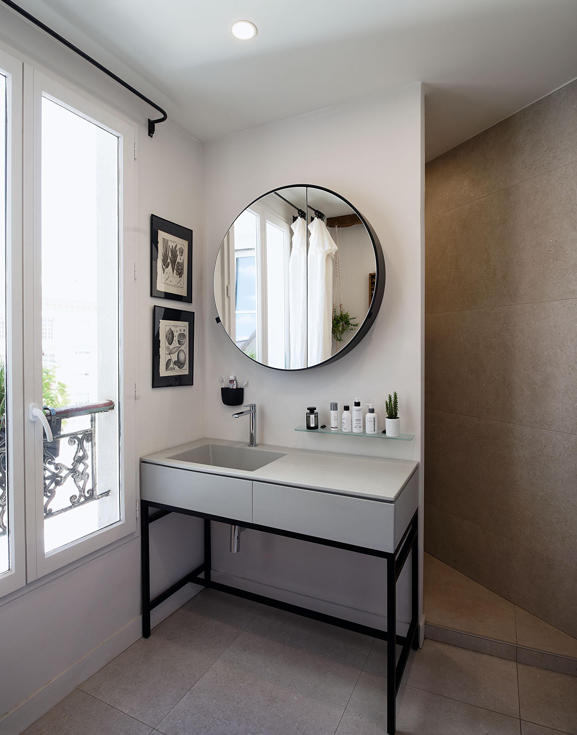 appartement paris 6 10surdix. Black Bedroom Furniture Sets. Home Design Ideas